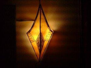 Appliques en peau tannée dans lampes app-jau-00141-300x224